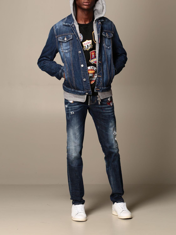 Jacket Dsquared2: Jacket men Dsquared2 denim 2