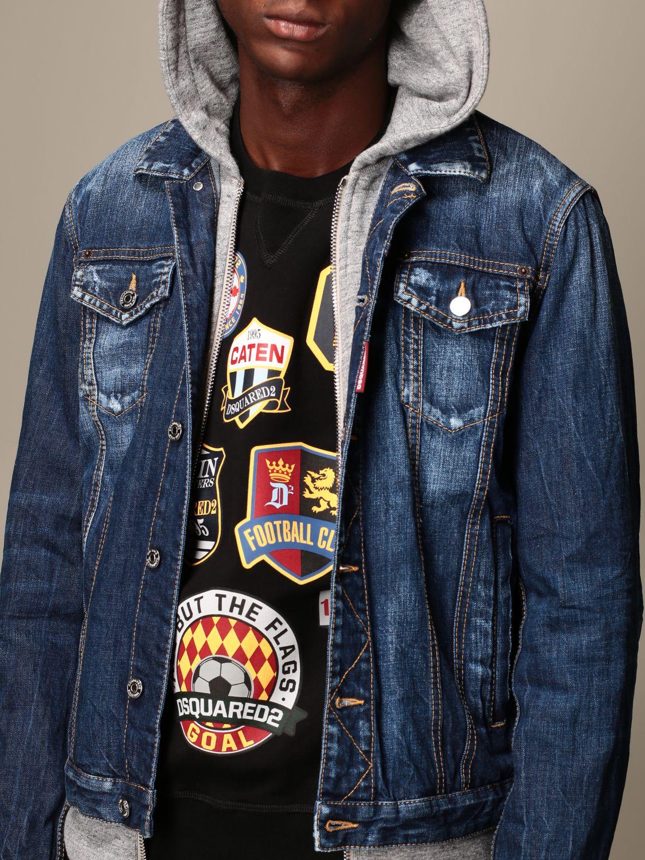 Jacket Dsquared2: Jacket men Dsquared2 denim 5
