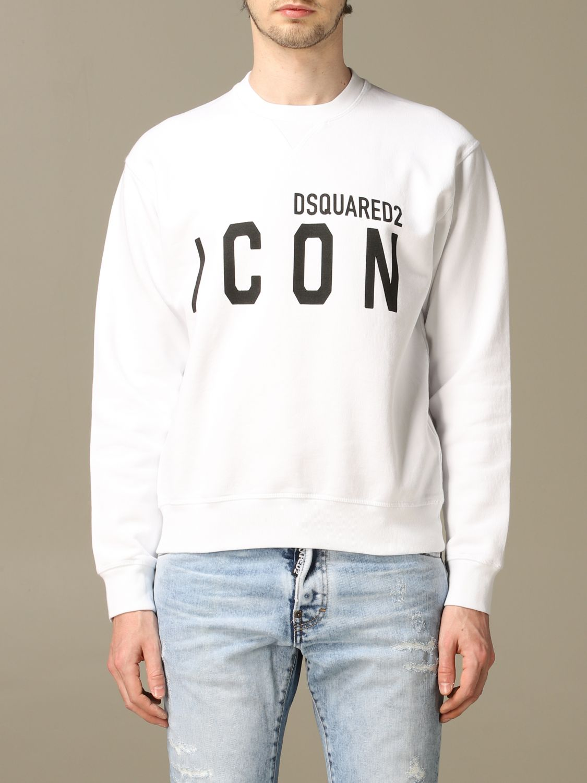 Sweatshirt Dsquared2: Icon Dsquared2 cotton sweatshirt with logo green 1