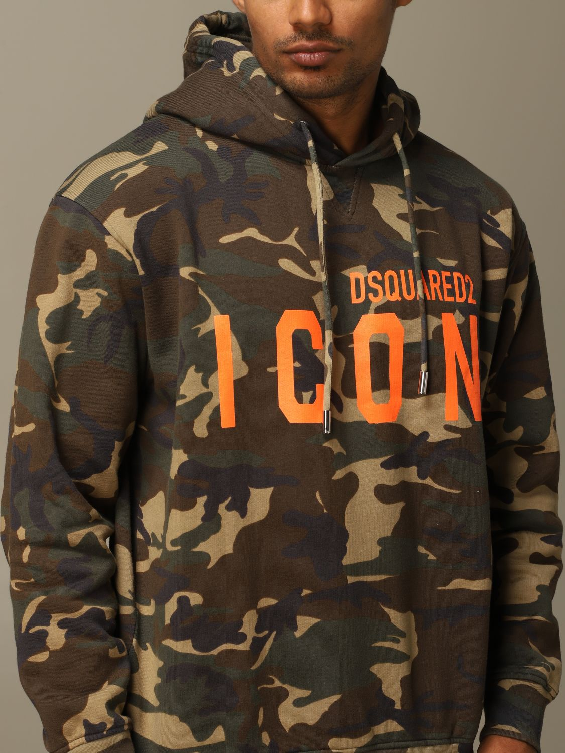 Sweatshirt Dsquared2: Sweatshirt herren Dsquared2 military 4