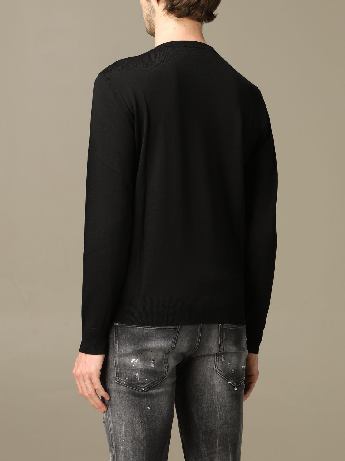 Sweater Dsquared2: Icon Dsquared2 sweater with logo black 3