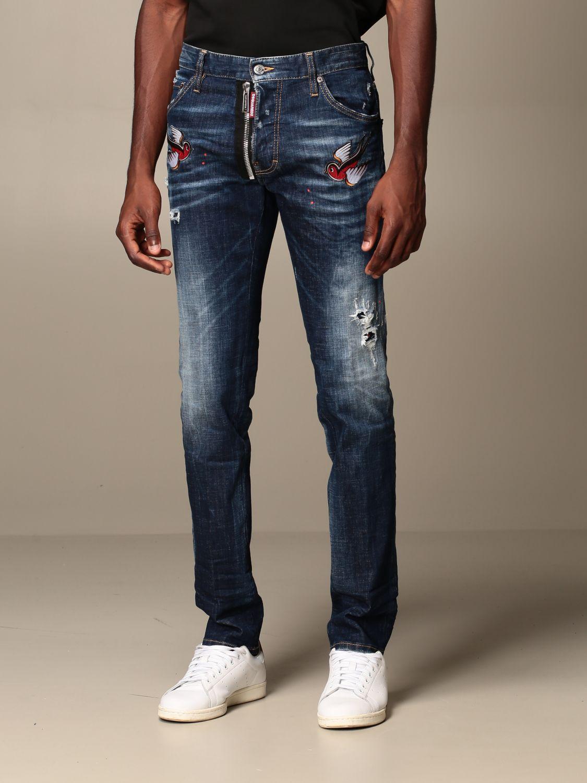 Jeans Dsquared2: Jeans herren Dsquared2 denim 3