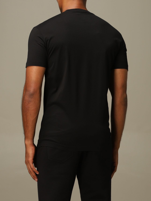 T-shirt Dsquared2: Dsquared2 crew neck t-shirt with logo print black 3