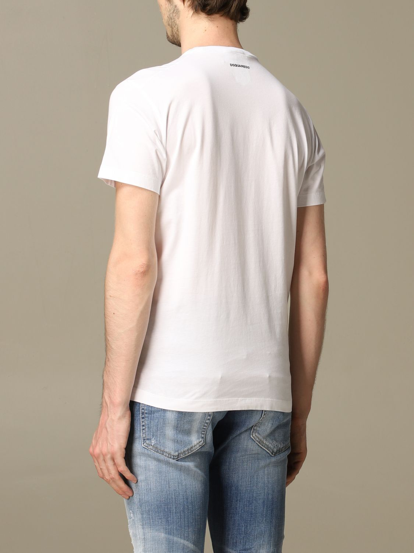 T-Shirt Dsquared2: T-shirt herren Dsquared2 weiß 3