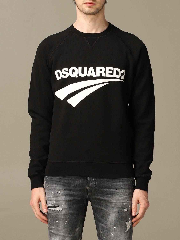 Толстовка Dsquared2: Толстовка Мужское Dsquared2 черный 1