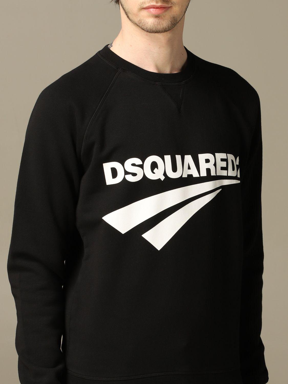 Толстовка Dsquared2: Толстовка Мужское Dsquared2 черный 5