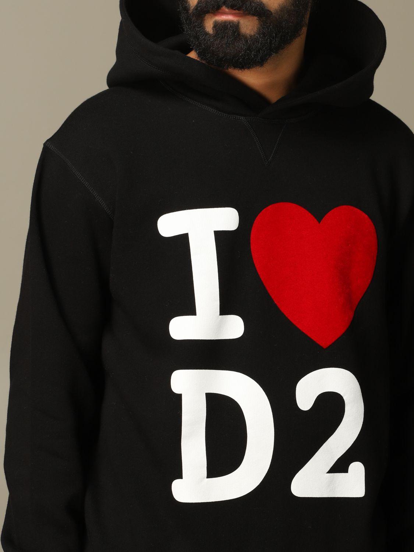 Sweatshirt Dsquared2: Sweatshirt herren Dsquared2 schwarz 5