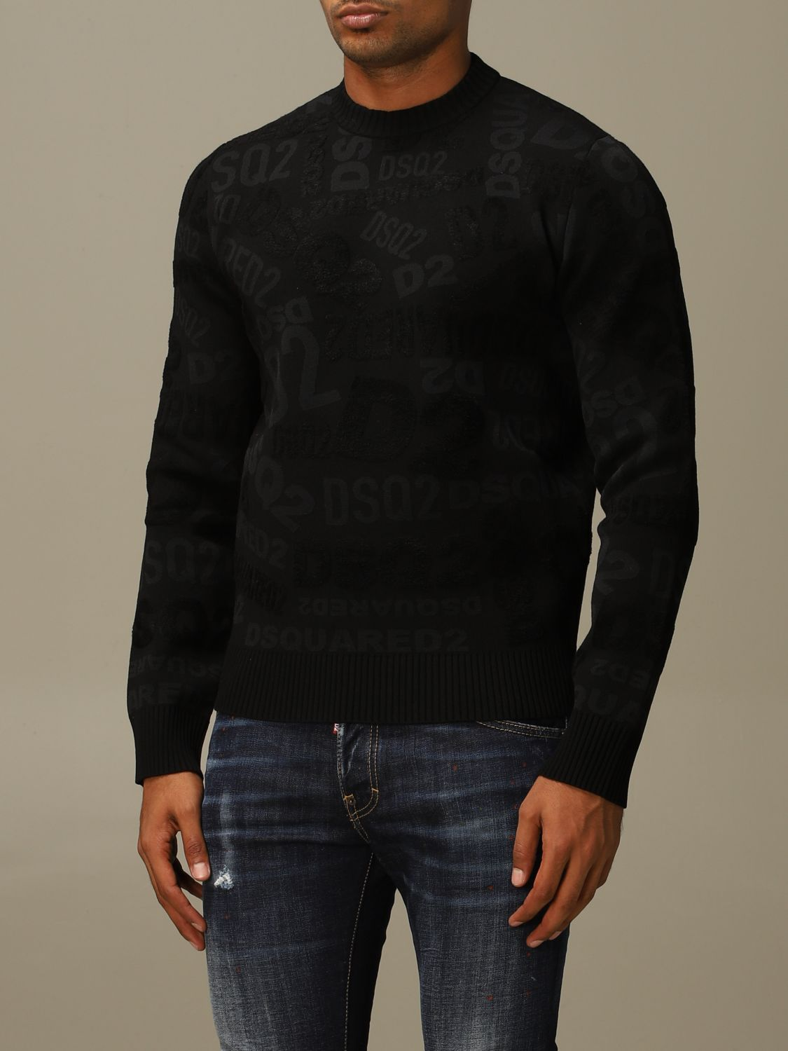 Jumper Dsquared2: Jumper men Dsquared2 black 3