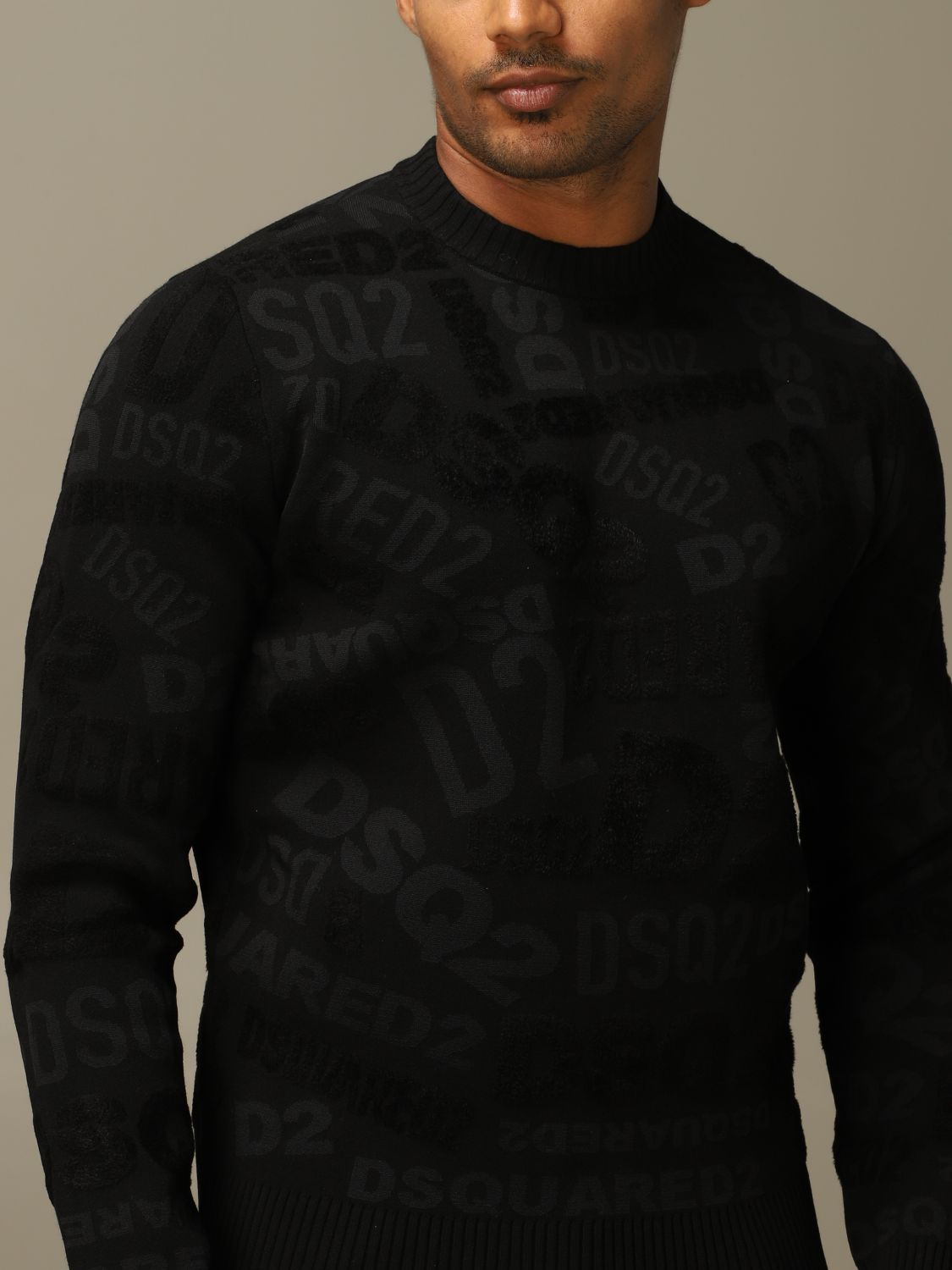Jumper Dsquared2: Jumper men Dsquared2 black 4