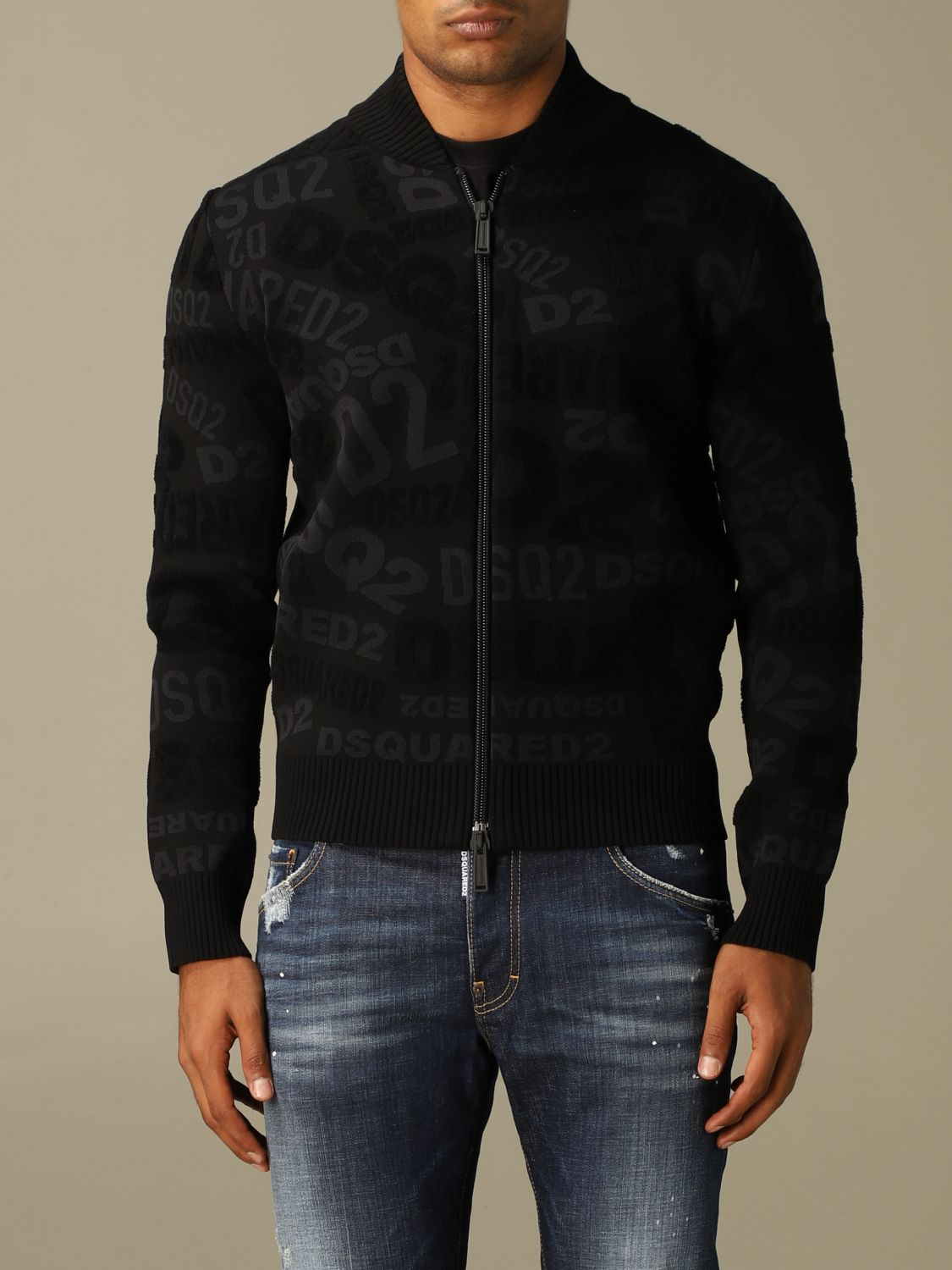Jumper Dsquared2: Jumper men Dsquared2 black 1