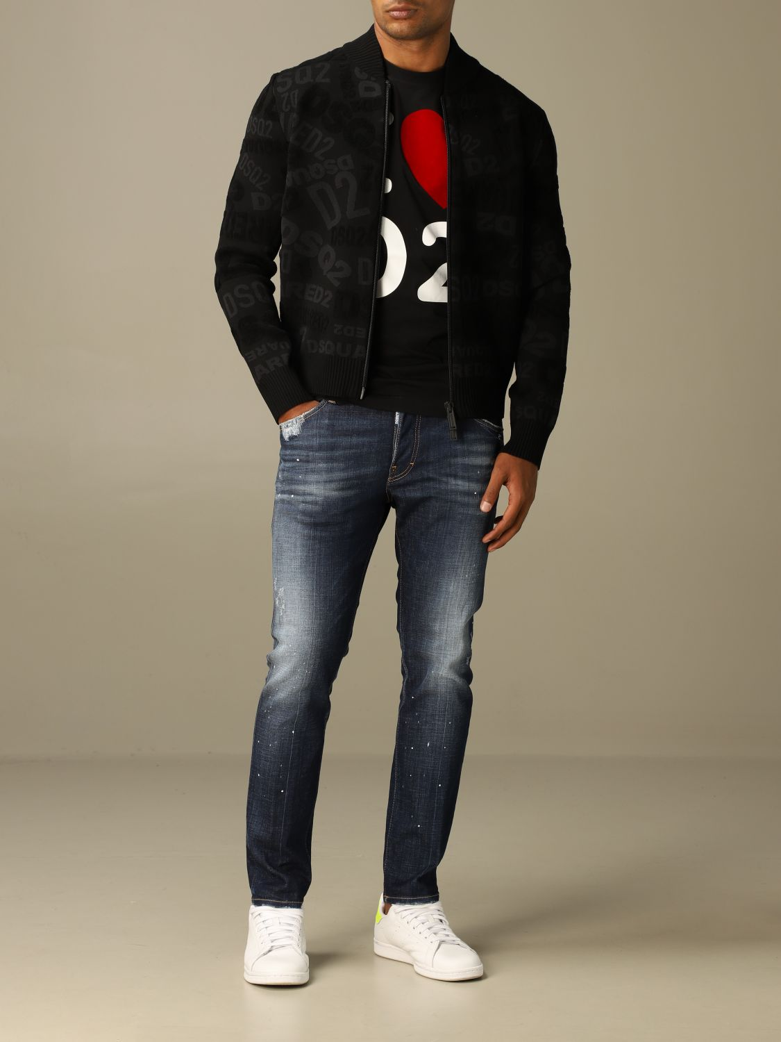 Jumper Dsquared2: Jumper men Dsquared2 black 2