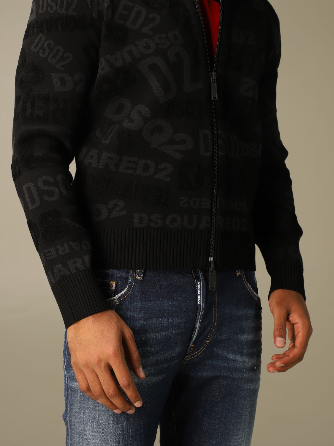 Jumper Dsquared2: Jumper men Dsquared2 black 5