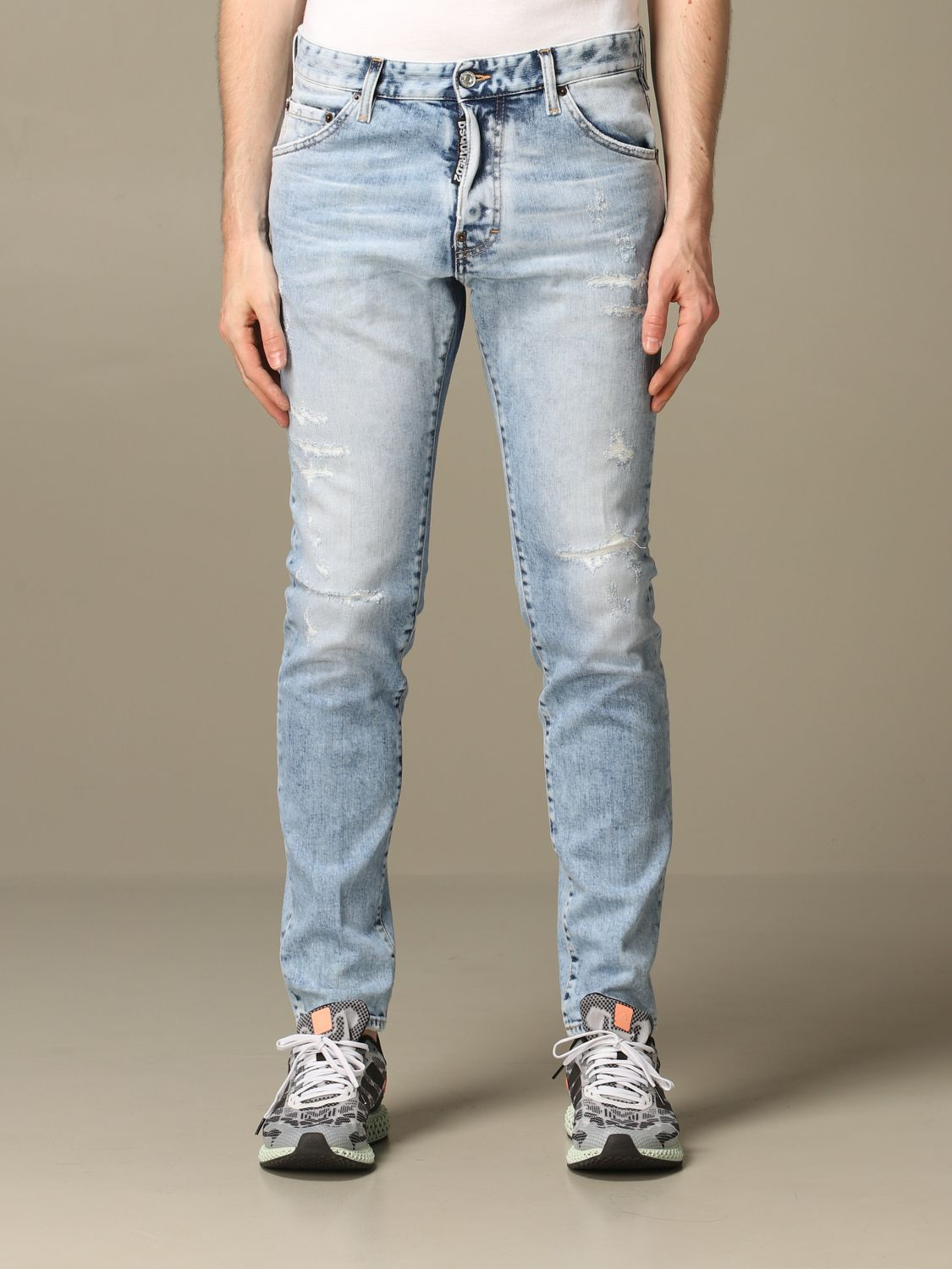 Jeans Dsquared2: Jeans herren Dsquared2 stone washed 1