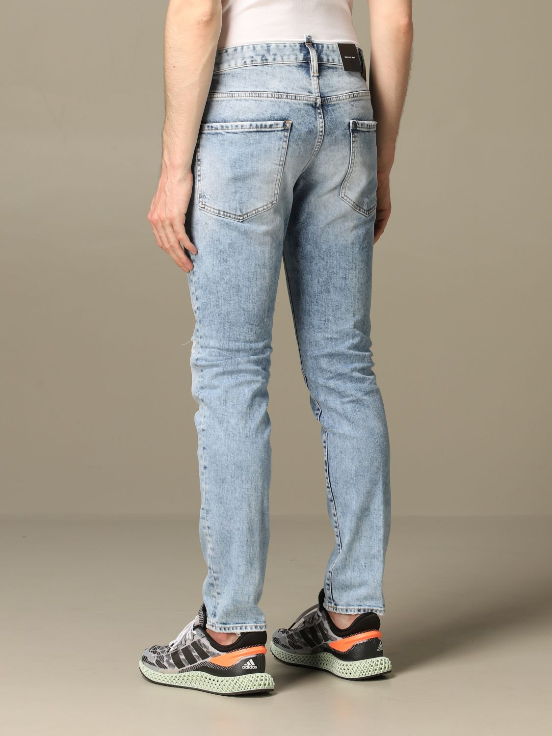 Jeans Dsquared2: Jeans herren Dsquared2 stone washed 2