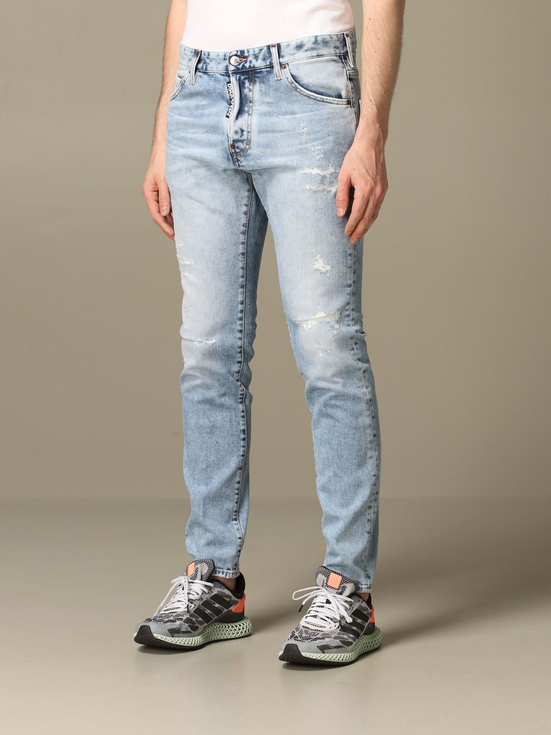 Jeans Dsquared2: Jeans herren Dsquared2 stone washed 3