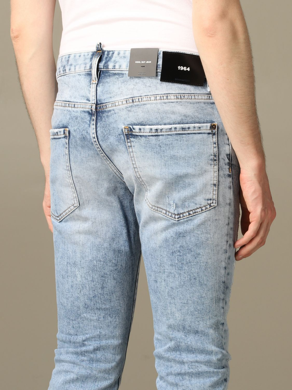 Jeans Dsquared2: Jeans herren Dsquared2 stone washed 4