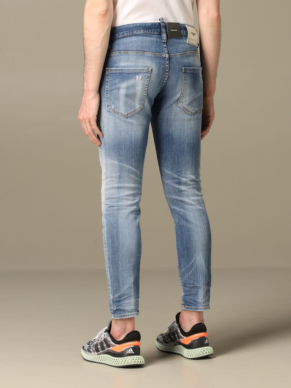Jeans Dsquared2: Jeans herren Dsquared2 blau 2