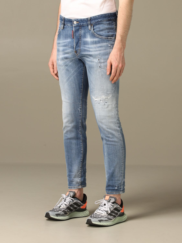 Jeans Dsquared2: Jeans herren Dsquared2 blau 3