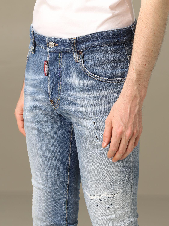 Jeans Dsquared2: Jeans herren Dsquared2 blau 4