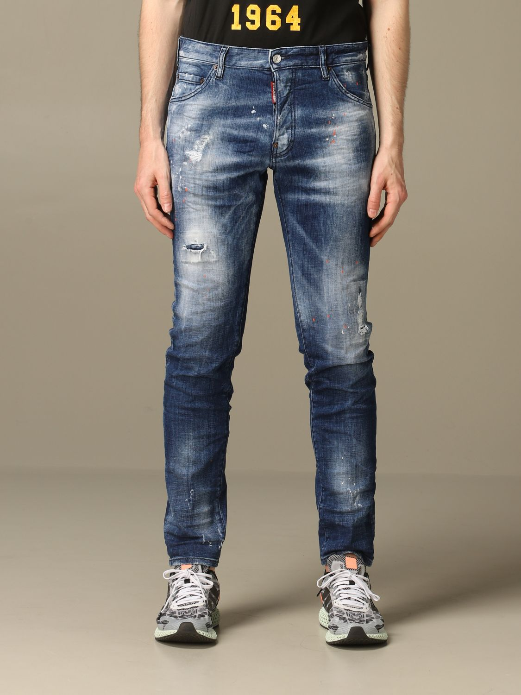 Jeans Dsquared2: Jeans herren Dsquared2 denim 1