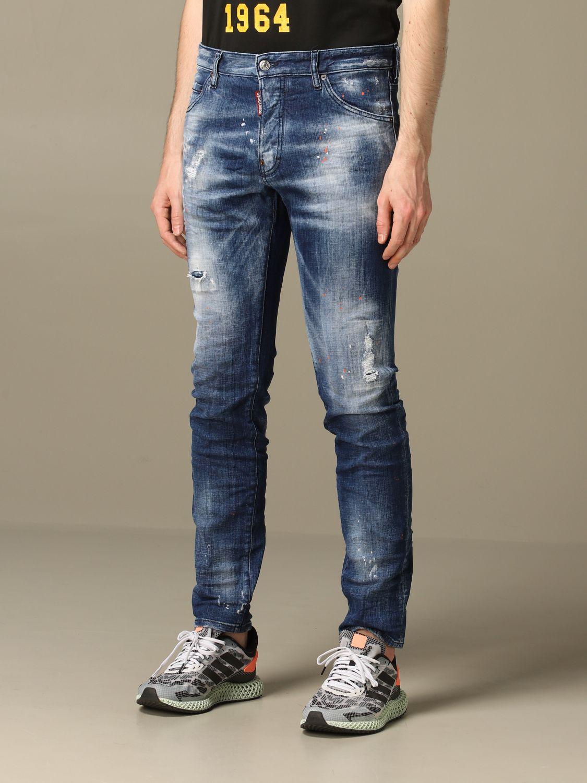 Jeans Dsquared2: Jeans herren Dsquared2 denim 4