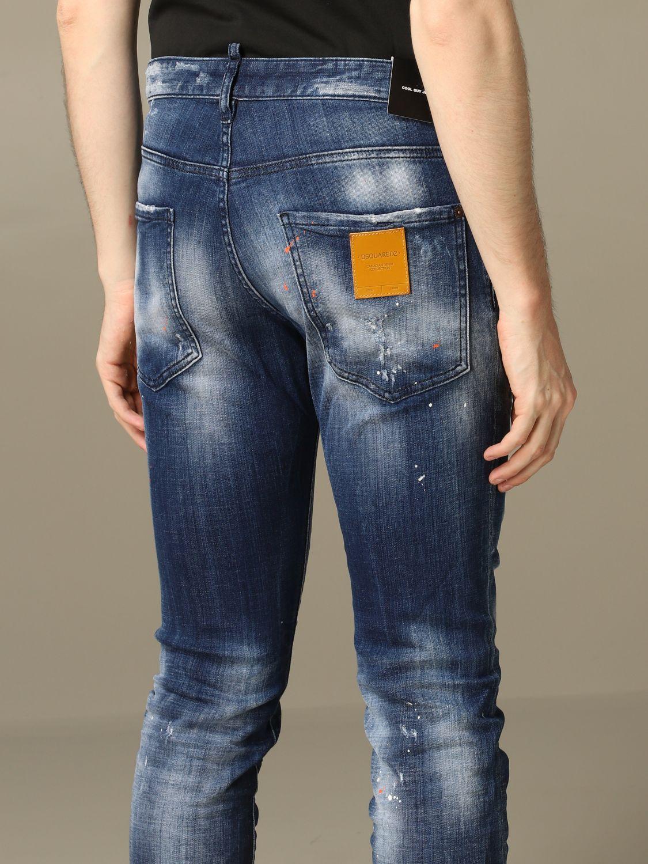Jeans Dsquared2: Jeans herren Dsquared2 denim 5