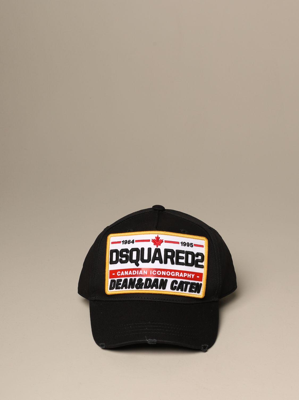 Головной убор Dsquared2: Головной убор Мужское Dsquared2 черный 2