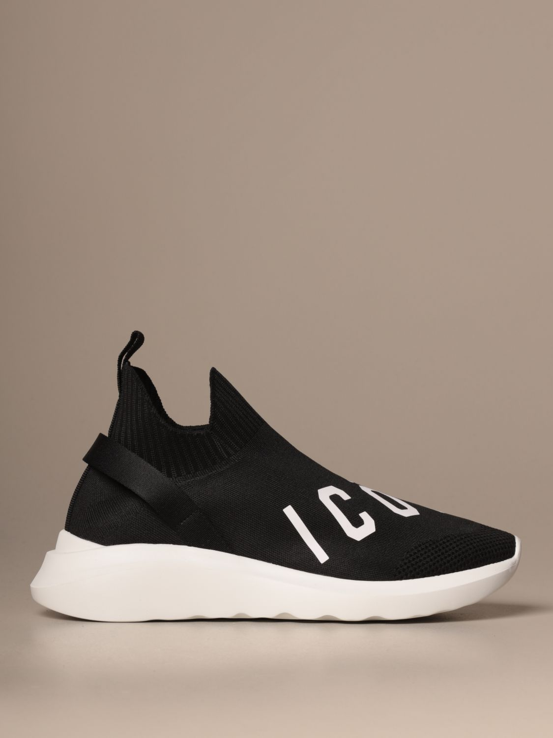 Sneakers Dsquared2: Dsquared2 sneakers in technical fabric with Icon logo black 1