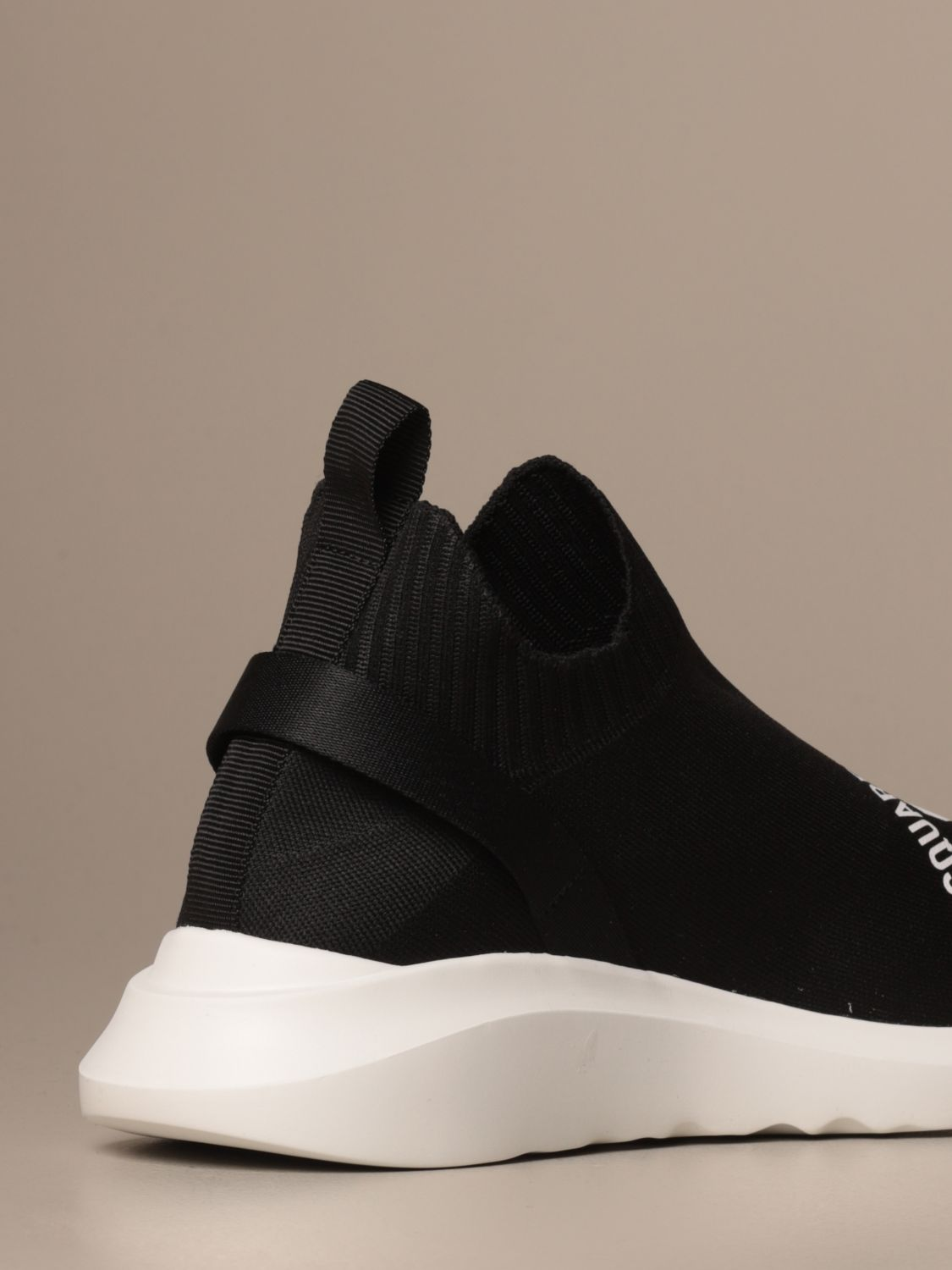 Sneakers Dsquared2: Dsquared2 sneakers in technical fabric with Icon logo black 3
