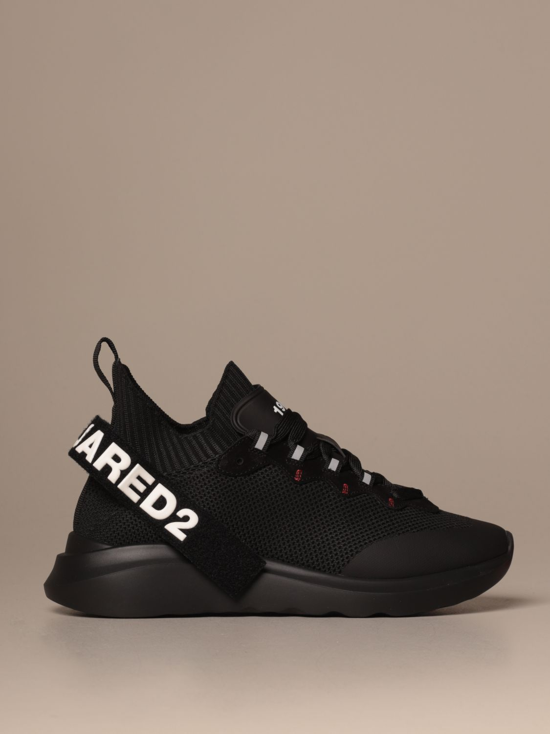 Trainers Dsquared2: Shoes men Dsquared2 black 1