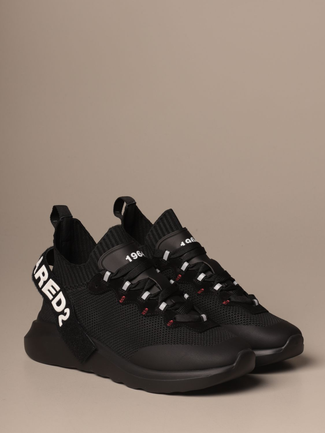Trainers Dsquared2: Shoes men Dsquared2 black 2