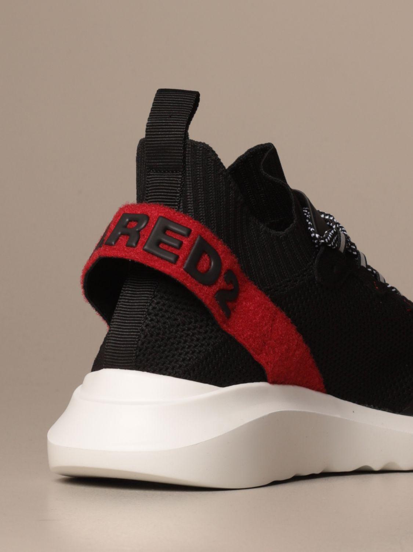 Trainers Dsquared2: Shoes men Dsquared2 black 1 3