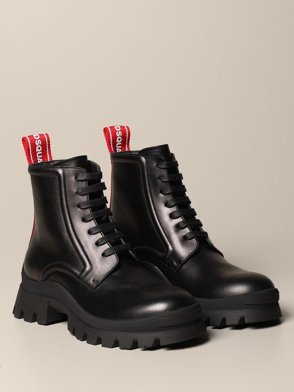 Stiefeletten Dsquared2: Schuhe herren Dsquared2 schwarz 1 2