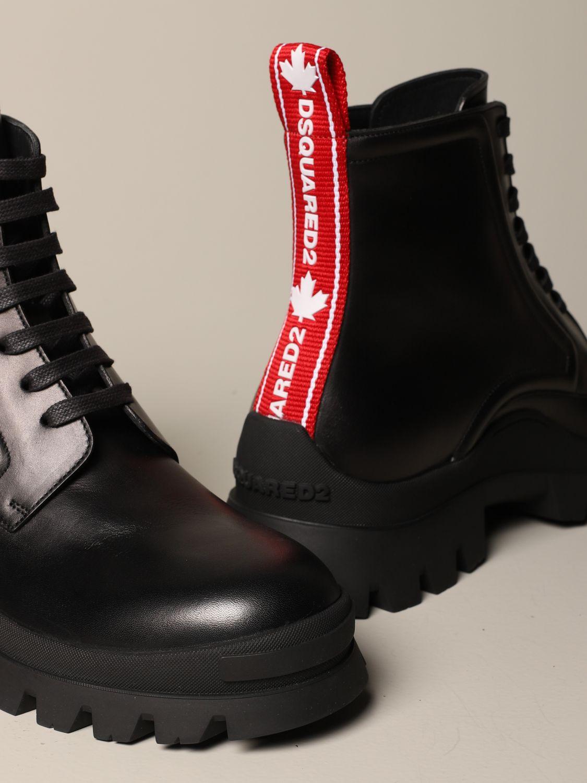 Stiefeletten Dsquared2: Schuhe herren Dsquared2 schwarz 1 4