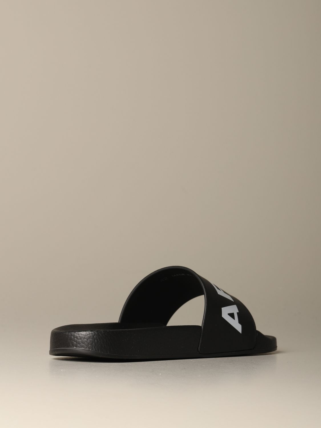 Sandals Dsquared2: Dsquared2 rubber sandal with logo print black 3
