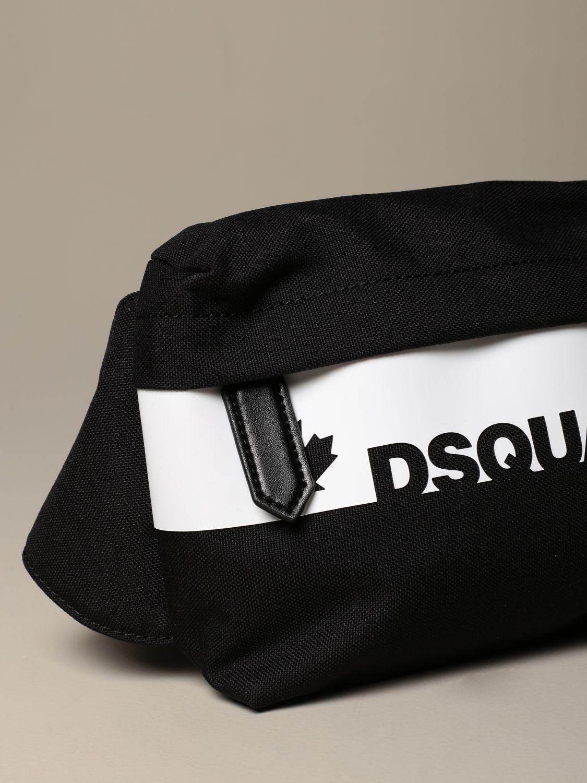 Портфель Dsquared2: Сумка Мужское Dsquared2 черный 3