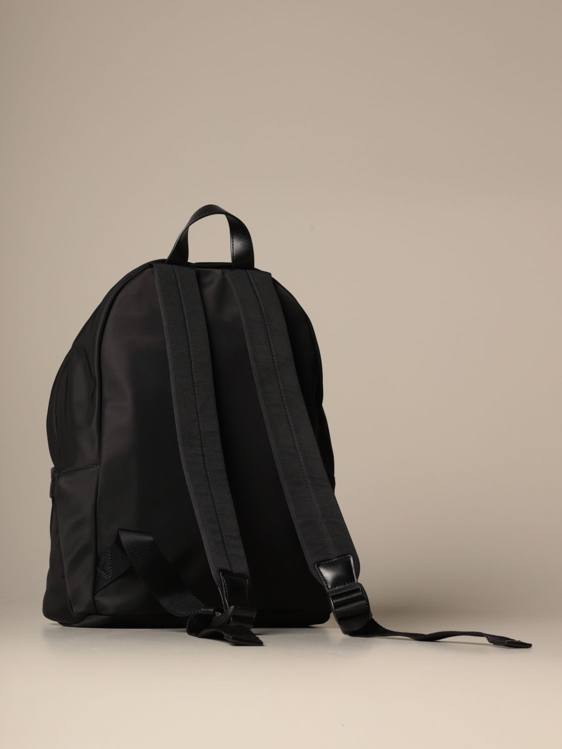 Backpack Dsquared2: Dsquared2 nylon backpack with Icon logo black 2