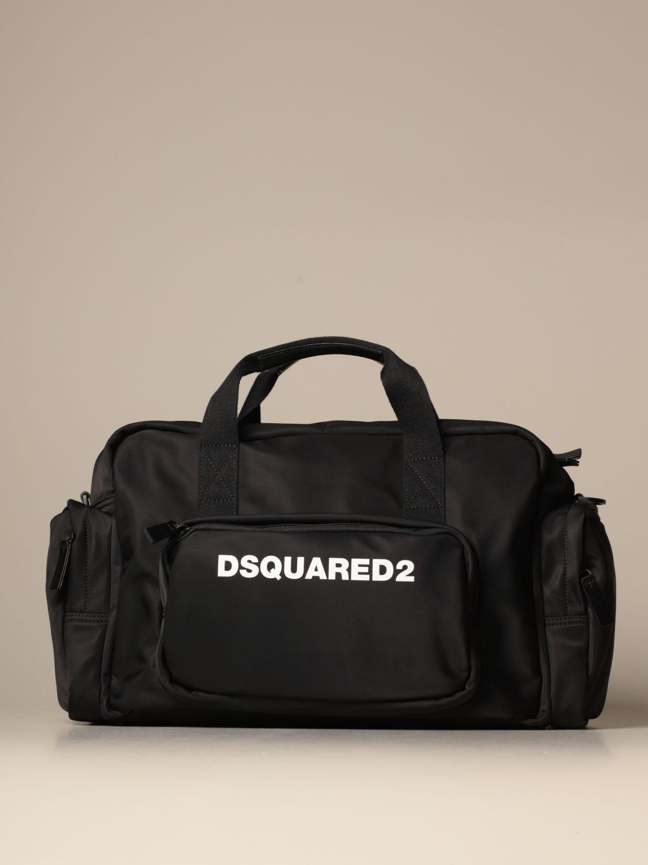 Shoulder bag Dsquared2: Dsquared2 nylon bag with logo black 1
