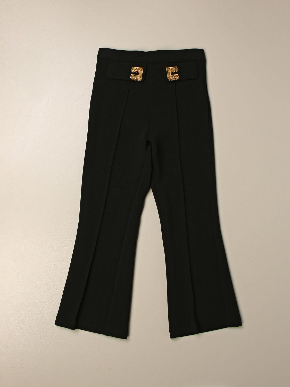 Trousers Elisabetta Franchi: Trousers kids Elisabetta Franchi black 1