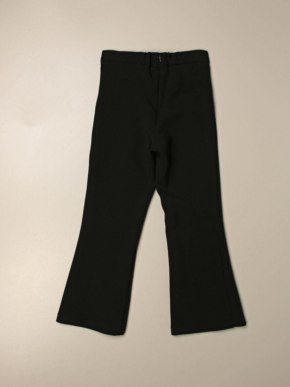 Trousers Elisabetta Franchi: Trousers kids Elisabetta Franchi black 2