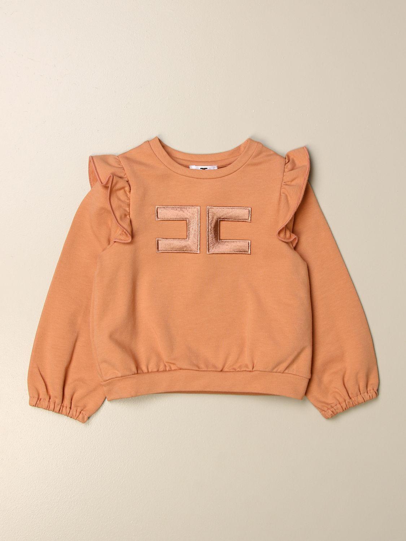 Sweater Elisabetta Franchi: Elisabetta Franchi sweatshirt with logo pink 1