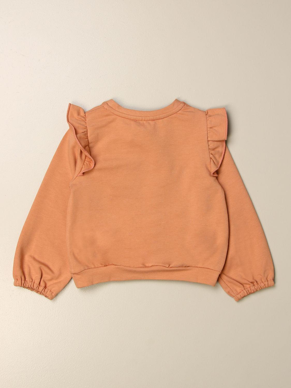 Sweater Elisabetta Franchi: Elisabetta Franchi sweatshirt with logo pink 2