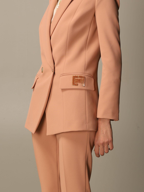 Деловой костюм Elisabetta Franchi: Деловой костюм Женское Elisabetta Franchi пудра 5