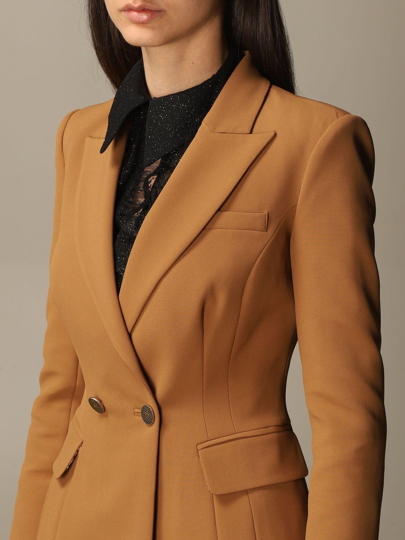 Деловой костюм Elisabetta Franchi: Деловой костюм Женское Elisabetta Franchi желто-коричневый 6