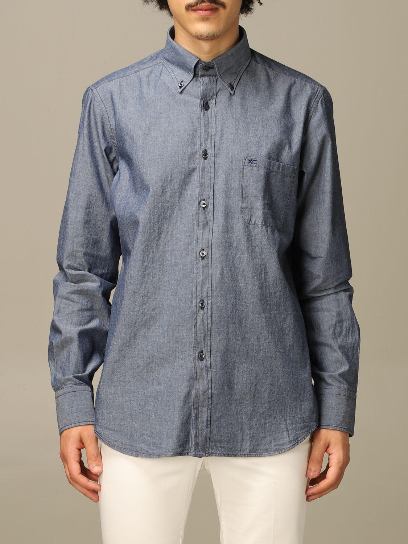 Рубашка Xc: Рубашка Мужское Xc серо-бежевый 1