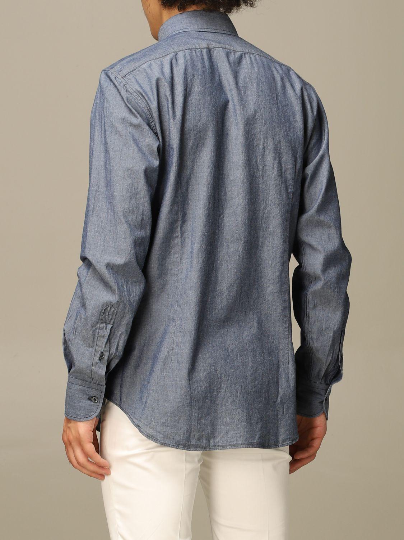 Рубашка Xc: Рубашка Мужское Xc серо-бежевый 2