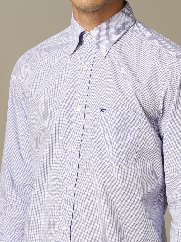 Рубашка Мужское Xc голубой 3