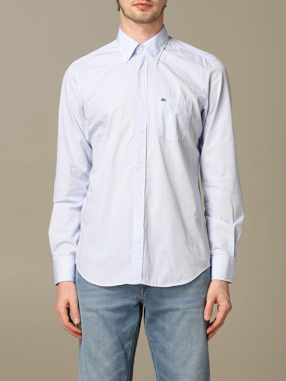 Рубашка Мужское Xc голубой 1