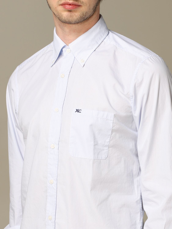 Рубашка Мужское Xc небесно-голубой 3