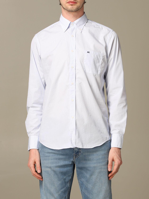 Рубашка Мужское Xc небесно-голубой 1